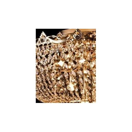 Lampa kryształowa wisząca KARMEN kryształowa piękna HIT