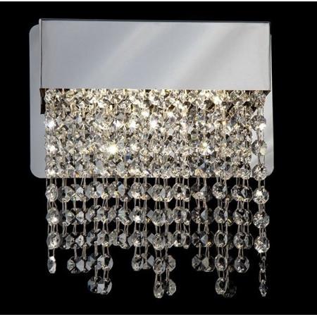 Kinkiet Kryształowy Palace New Chrom Nowoczesny Styl LED