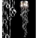 OGROMNY kryształowy żyrandol ALMI DECOR od firmy 200 cm lampa kryształ