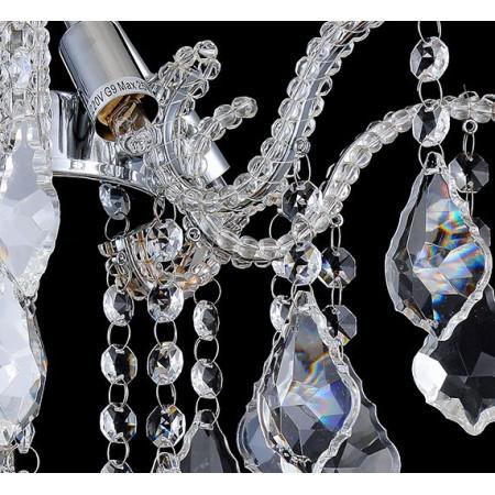 lampa kryształowa KARO mini zwisajaca 35 cm zwisająca