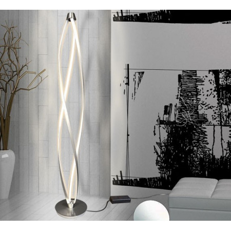 Nowoczesna Lampa Stojąca 140cm Natan LED New Design Metal