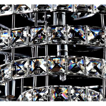 Ogromny Żyrandol Kryształowy Tomb Przysufitowy Plafon 60cm 6x G9