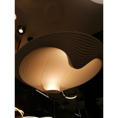 Żyrandol kryształowy WOLF koło duża srednica LED LEDOWY ring 30W NEUTRALNY