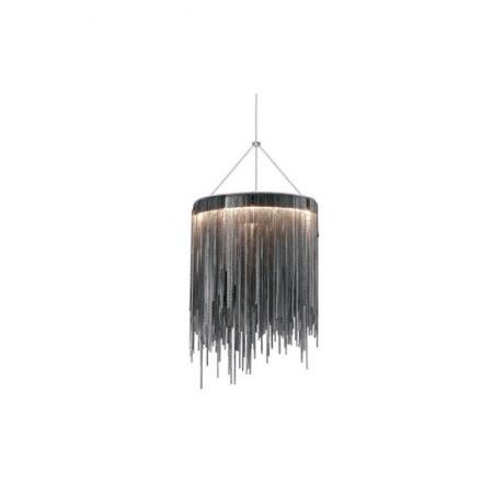 Lampa kryształowa KORAL wiszaca plafon 42 cm